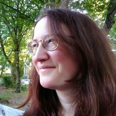 Die Autorin Ina Steg